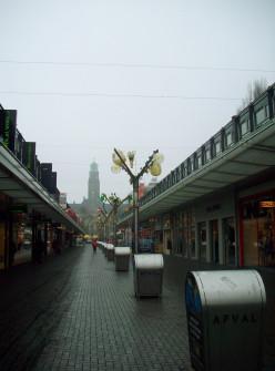 View of the Lijnbaan, Rotterdam