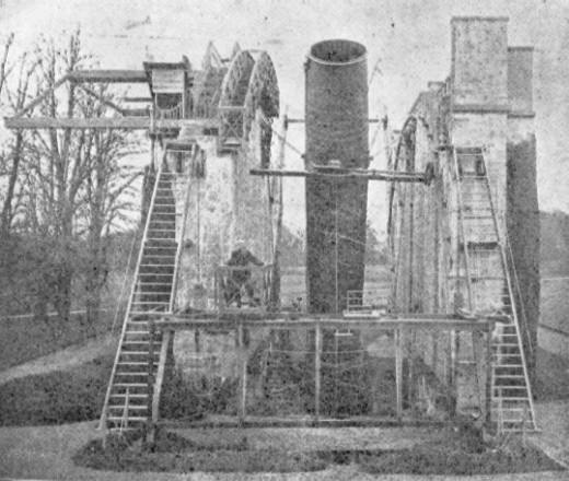 The largest telescope of the 19th century, the Leviathan of Parsonstown.