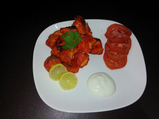 Chicken Tikka ( Indian Dish)