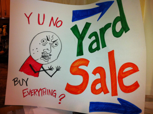 Yard Sales are prime ways to earn some cash and clear some space in your home.