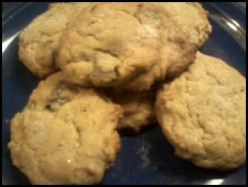 Trail Mix Peanut Butter Cookies Recipe