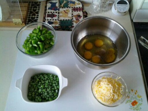 It is a good idea to how all the ingredients ready before you start cooking; the process will go fast.