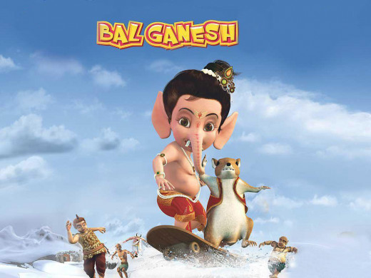 Sweet Little Young Bal Ganesha
