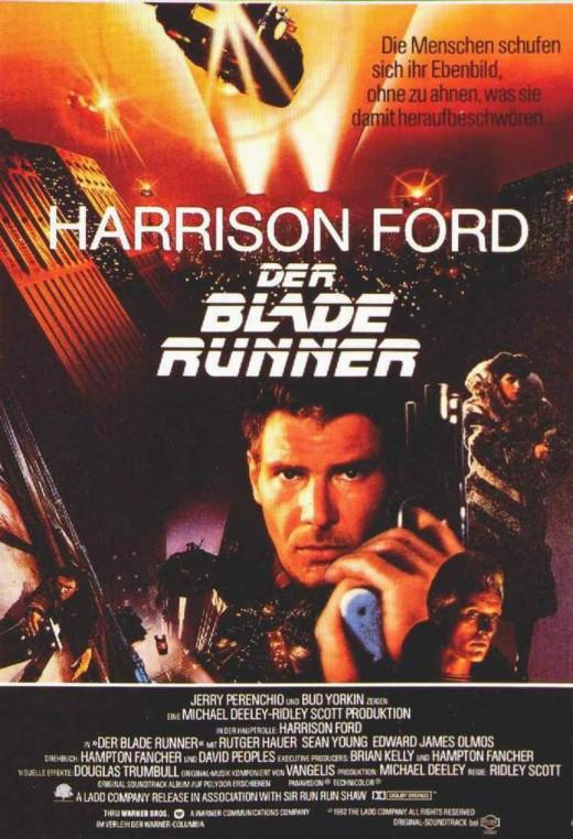 Blade Runner (1982) German poster