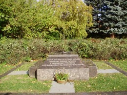 Memorial to the Don Cossack's who died fighting the Bolshevik's.