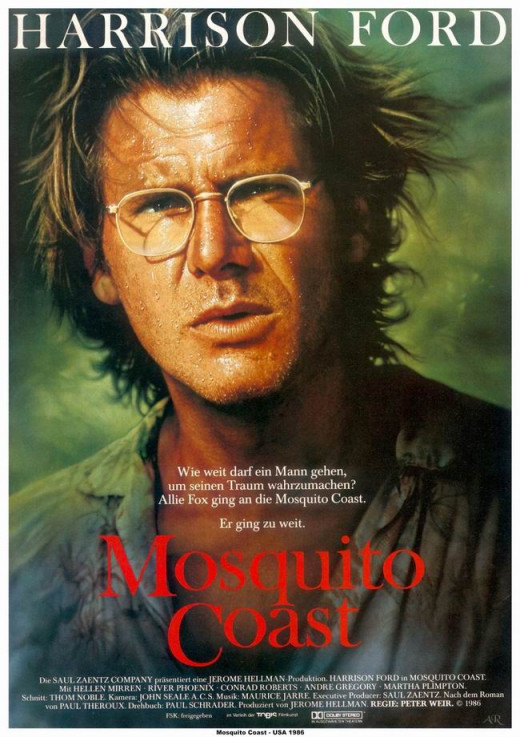 The Mosquito Coast (1986) German poster