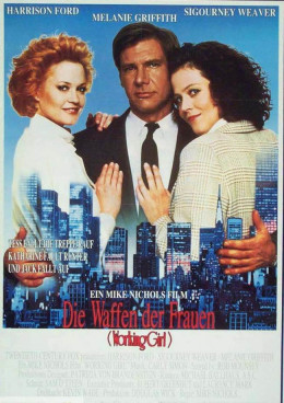Working's Girl (1988) German poster