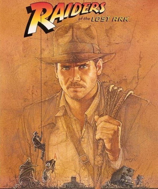 Raiders of the Lost Ark (1981) art by Richard Amsel