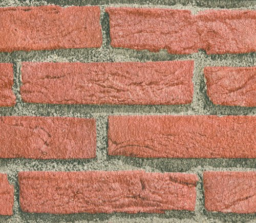 Unfortunately I did not take a picture of my brick backsplash before I transformed it, but it was identical to the image in this picture.