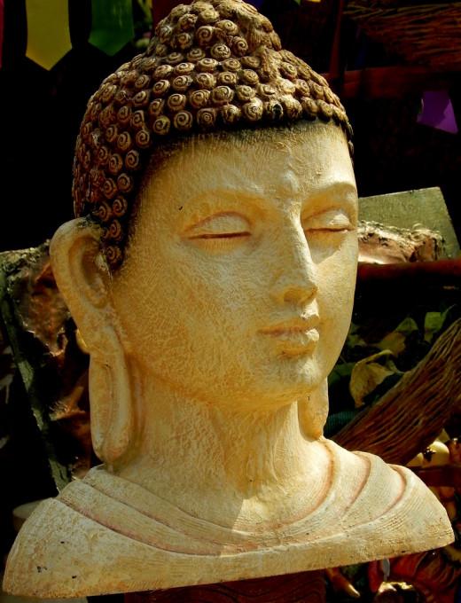 Buddha, Surajkund Mela Terra Cota and Pottery are available in plenty at Surajkund Mela