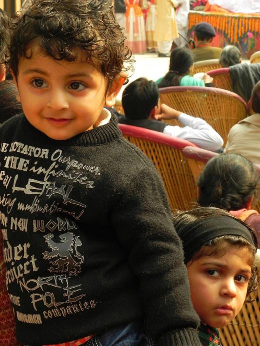 Little Audiences at Natyashala of Surajkund Mela
