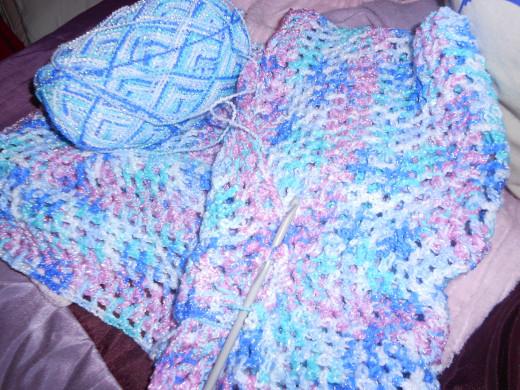 Baby Blanket in Double Crochet