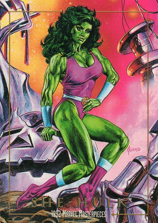 She Hulk Purple Bathing Suit Costume