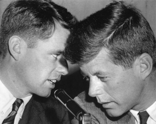 The Kennedys, a political dynasty murdered, but one that Schlesinger saw as promising America a hopeful future--young, dynamic, radical gentlemen of the political game.