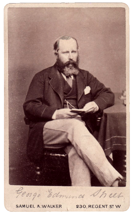 British architect George Edmund Street (1824-1881)