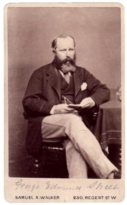 British architect George Edmund Street (1824-1881)