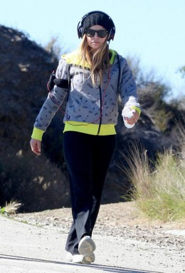 Fergie's fitness style- geting in shape for her upcoming wedding