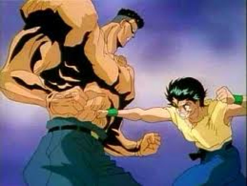 Yusuke Urameshi vs Toguro
