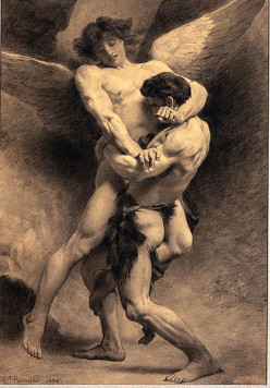 Why did God love Jacob so much that he allowed Jacob to Wrestle him all night? Genesis 32:24-29