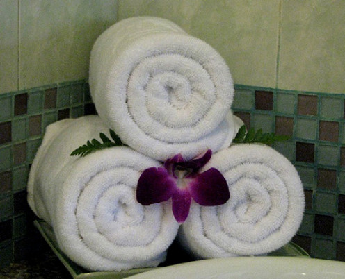 We all love fluffy hotel towels!