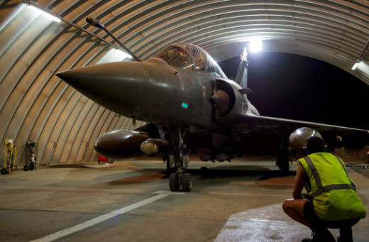 French Mirage jets in Chad