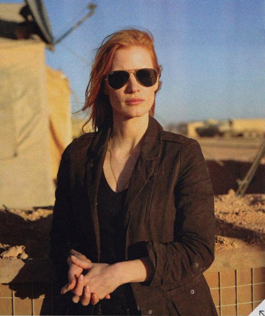 Jessica Chastain (Zero Dark Thirty)