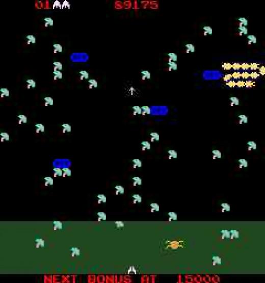 Millipede by Atari - Arcade Screenshot