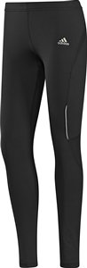 Women's thermal tights with reflective trim are both safe and functional.