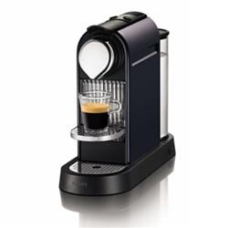 The Black Nespresso Citiz Machine