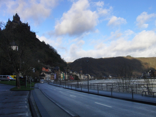 Cochem, the River and the Castle
