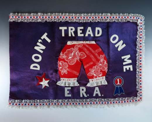"First Lady Betty Ford's ""Bloomer Flag"""