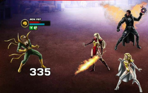 Iron Fist is outnumbered; not good!