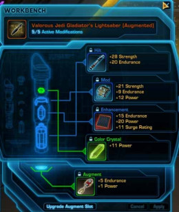 SWTOR How to Make Augments