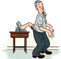 Scam Pickpocket.  Illustration by Mark Matcho