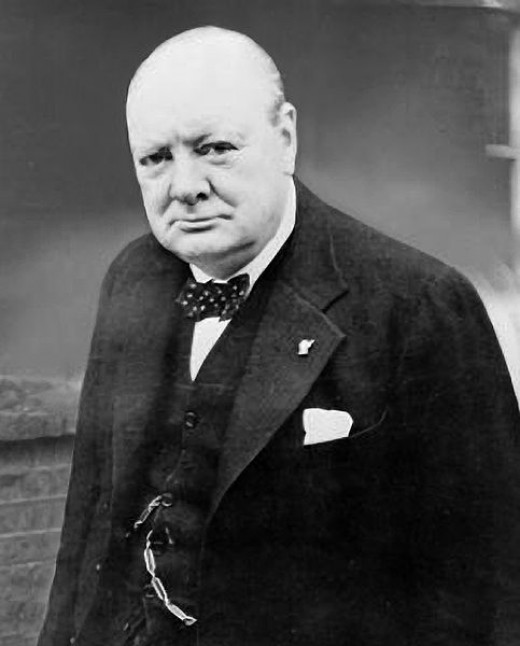 Winston Churchill was Britain's Prime Minister during the Battle of Britain. His great oratory skills and charismatic personality made him the ideal wartime leader.