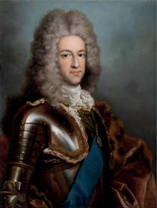 The pretender James  Francis Edward Stuart