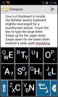 QWERTY4 keyboard