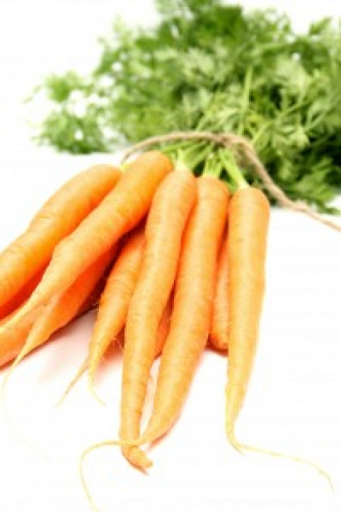 Carrots are rich in vitamins