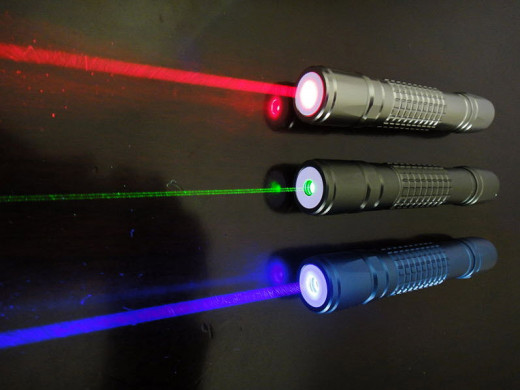 Three types of Laser Pointers