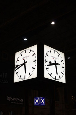 The Swiss Railway Clock: Seven Decades of Minimalistic Time-Telling
