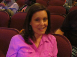 Louise Loewy, is the mother of the very talented Jessie Loewy. She was present in the audience along with her husband in support of their talented son.