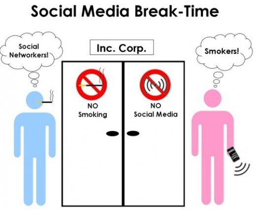 We all need to restrain ourselves and go cold turkey on social media life.