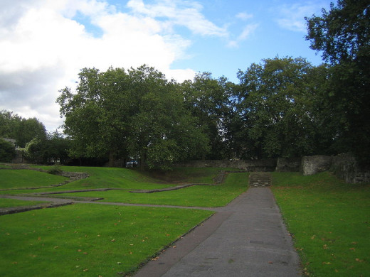 The ruins of Barking Abbey