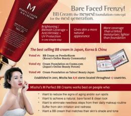 Missha M Perfect Cover Advertisement image.