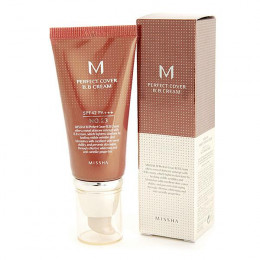 Missha Perfect Cover BB Cream Package