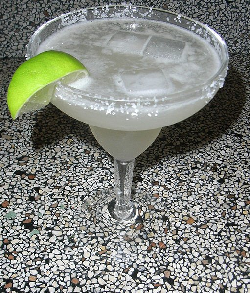 A refreshing Margarita.
