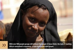 Africa is home to over 900 people groups who have yet to hear the Good News of Jesus Christ.