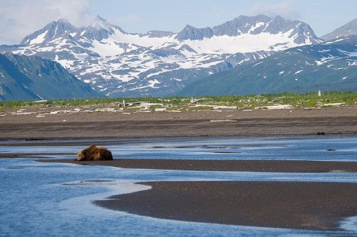 Hallow Bay, Katmai