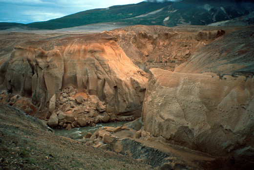 River in Valley of Ten Thousand Smokes