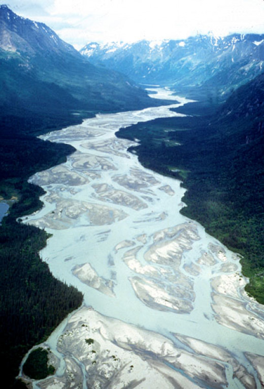Tlikakila River in Lake Clark NP